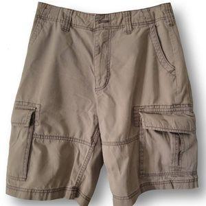 Perfect American Rag Khaki Cargo Shorts Men's(31)